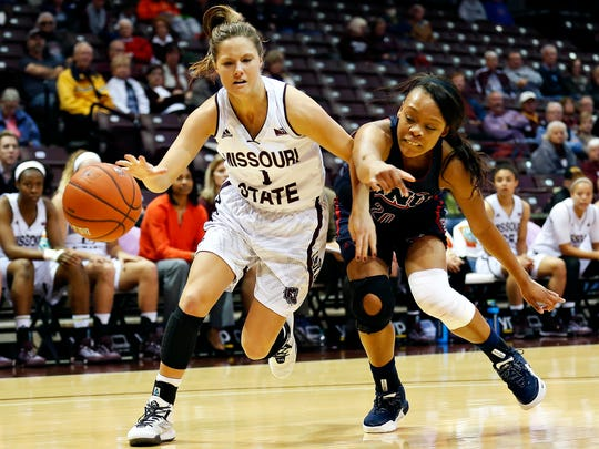 Freshman Danielle Gitzen started 19 games for the Lady