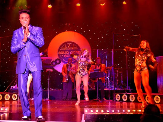 Singers take the stage at Harrah's, where even the backup dancers are scene stealers with their scintillating moves and charisma.