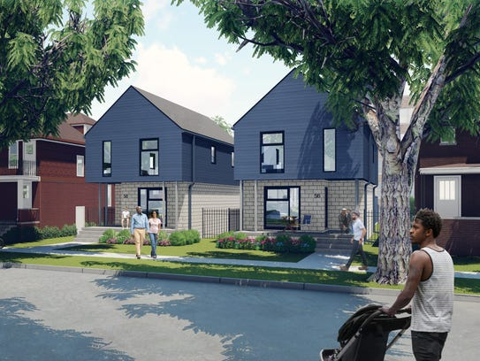 Plans call for building a dozen new homes and rehabbing