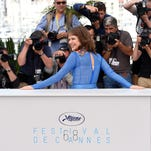 """Nailea Norvind attends the photo session for the film """"Chronic"""" in Cannes."""