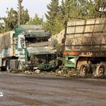 UN suspends convoys in Syria after attack on aid trucks