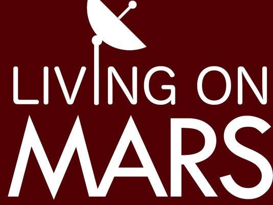Living on Mars logo