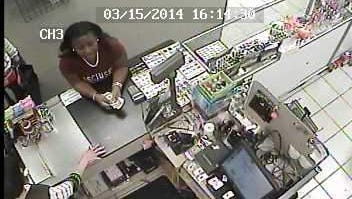 The store?s video surveillance captured three females who are said to be suspects in the case.