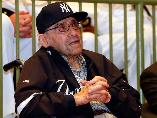 D-Day Yogi Berra Baseball