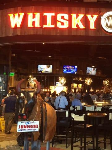 Dale Earnhardt Jr. opened up a Whisky River restaurant