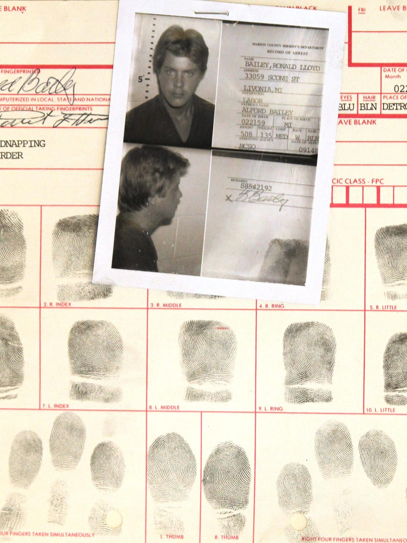 Ronald Lloyd Bailey was fingerprinted in September