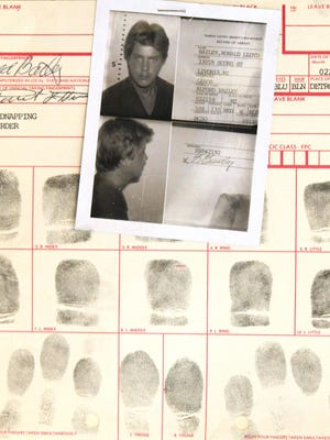 Ronald Lloyd Bailey was fingerprinted in September 1985 when he was arrested in Marion County, Florida, on a Michigan warrant alleging he kidnapped and murdered 13-year-old Shawn Moore, of Green Oak Township.