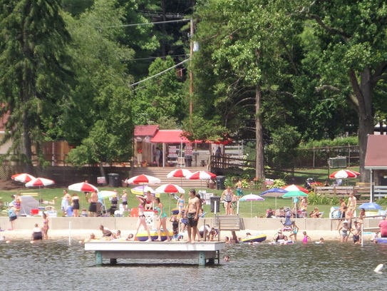 Mt. Gretna Lake and Beach is open to the public until