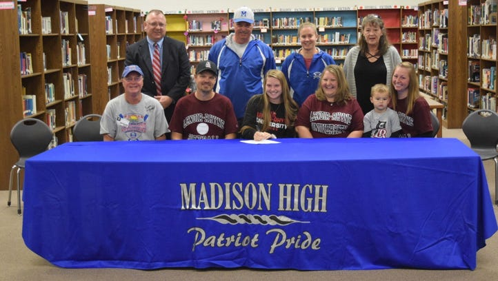 Madison pitcher highlights week of big signings