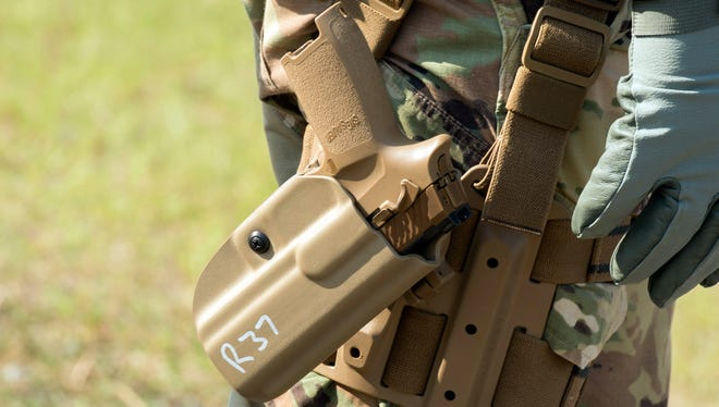 By November, the Army is expected to issue some 2,000 M17 pistols to the 101st Airborne Division at Fort Campbell.