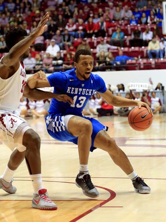 NCAA Basketball: Kentucky at Alabama Marvin Gentry USA Today Sports