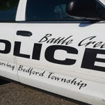 Battle Creek Police Department car