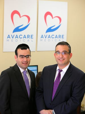 Steven Z. Zeldes, chief executive officer, and Mark Bakst, chief financial officer, at AvaCare Medical, a medical equipment and supply business based in Lakewood.