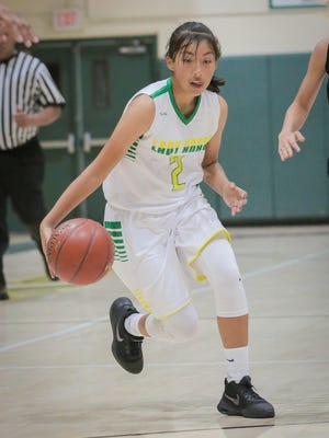 Highlights from the Coachella Valley, La Quinta basketball game Monday, December 4.