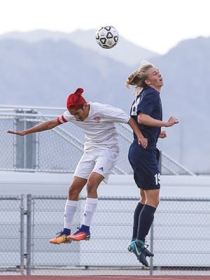 The Desert Mirage varsity soccer team lost Thursday's home playoff game against El Segundo in a shootout after a score of 3-3.