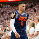 Russell Westbrook is losing everything vs. Jazz, even trash-talk battle with Mitt Romney