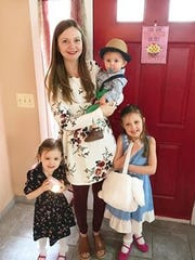 Katie Bartz, 31, of Chili, will celebrate Mother's Day with her three children: Avery, 5, Tessa, 3, and Sawyer, 7 months.