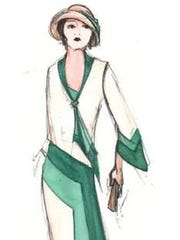"The Indiana Repertory Theatre hired Tracy Dorman to sketch designs for costumes the main characters will wear in the fall production of ""The Great Gatsby."""