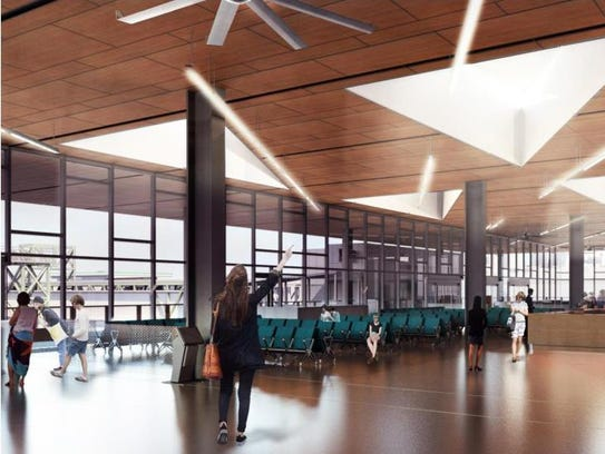Artists rendering shows what the inside of the Colman