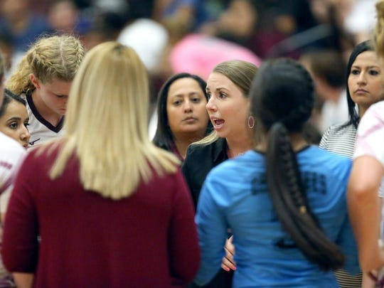 Tuloso-Midway volleyball coach Jamie Gill and the Cherokees will face Prosper in a Class 5A state semifinal at 3 p.m. Friday at the Culwell Center in Garland.
