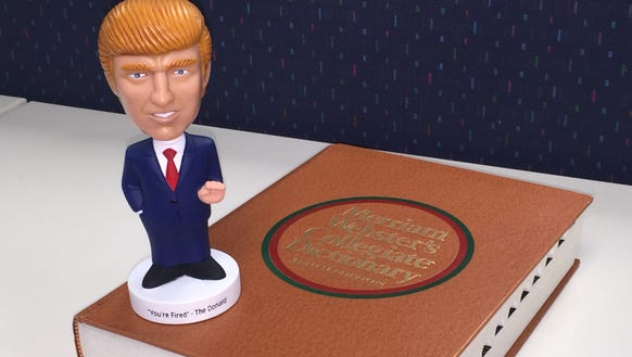 The real Donald Trump, not this bobble-head, is apparently