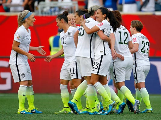 USA v Australia: Group D - FIFA Women's World Cup 2015