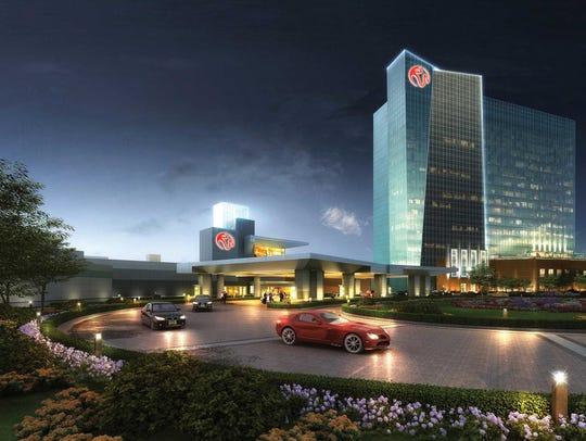 The Resorts World Catskills casino in Sullivan County.