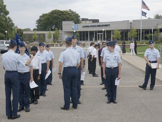 The Civil Air Patrol meets at the Livonia Police Department.