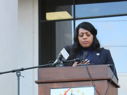 Commissioner Stormy Gage-Watts said that every parish