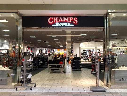 Champs Sports closed at the Knoxville Center Mall in 2017.