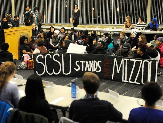 scsu student leader responds to rally requests. Black Bedroom Furniture Sets. Home Design Ideas