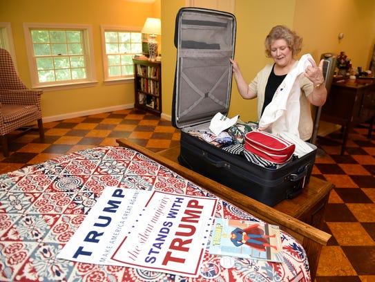 Debbie Taylor, photographed at her Mercersburg home