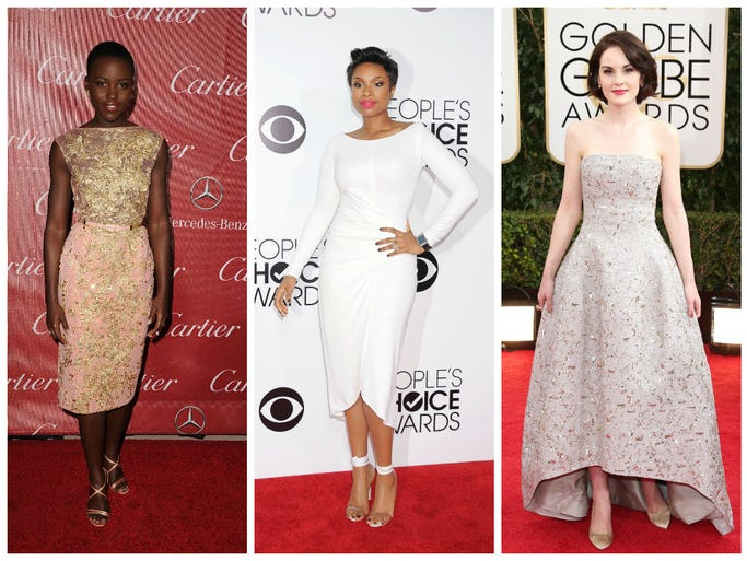 Fashion plans are still in the works for the crown jewels of awards season — the Oscars and the Grammys — but that doesn't mean we have to wait until Jan. 26 or March 2 to scope the trends. USA TODAY's Alison Maxwell analyzes the looks from the smaller shows that were still big on style.