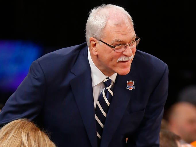 Phil Jackson has accepted a position with the New York Knicks to be their top executive.