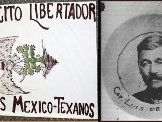 Tejano ranchers Luis de la Rosa and Aniceto Pizaña
