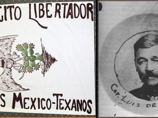 """Tejano ranchers Luis de la Rosa and Aniceto Pizaña were tired of being used and abused by the Anglo setters and especially the Texas Rangers. They decided to go to war against the gringos — a scheme that was part of the Plan de San Diego. They formed a  militia called """"Ejercito Libertador de los Mexico-Tejanos (Liberating Army of the Mexican Texans)"""" and raided ranches, towns and railroads in an effort to send their message. Often, they would scurry back across the border for safety but they sent a message."""
