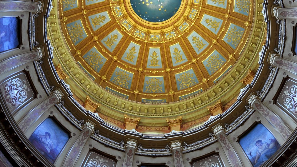Capitol Dome Lansing