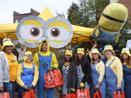 Premier Medical Group's Minion themed booth took the