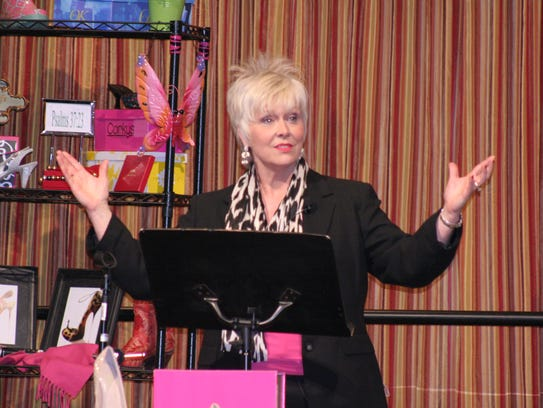 Cherie Jobe, author, hairstylist and motivational speaker,