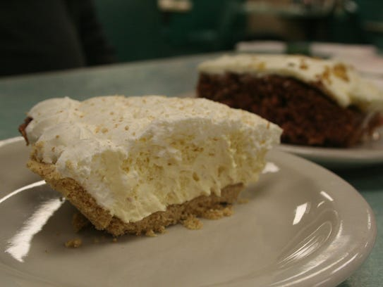 Arlene's Truck Stop also features pies and cake