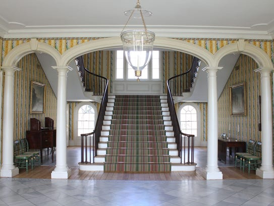 Boscobel's Grand Entry Hall will serve as the setting