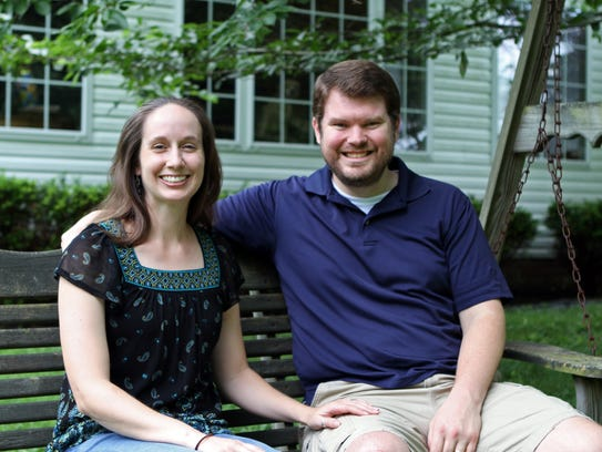Luke and Katie Baine moved to Clarksville from Austin,