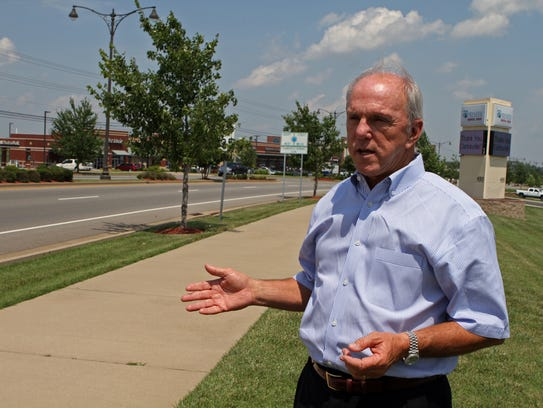 Former Mayor, Johnny Piper is most proud of the development