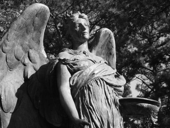 Black Angel in Council Bluffs