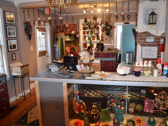 Masque, a unique gift shop, opened in January on West