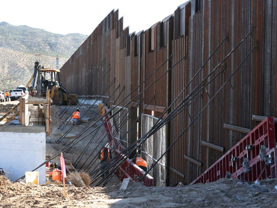 Is President Donald Trump S Border Wall Going Up Now