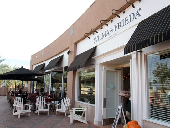 Wilma & Frieda's Cafe at the Gardens on El Paseo  is
