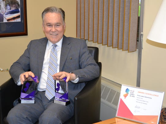 Donald J. Parker, Carrier Clinic CEO/president, with