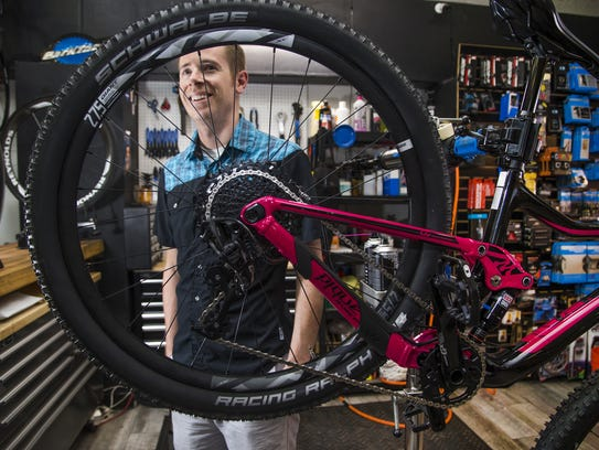 Justin Bush is general manager of the Velo bicycle