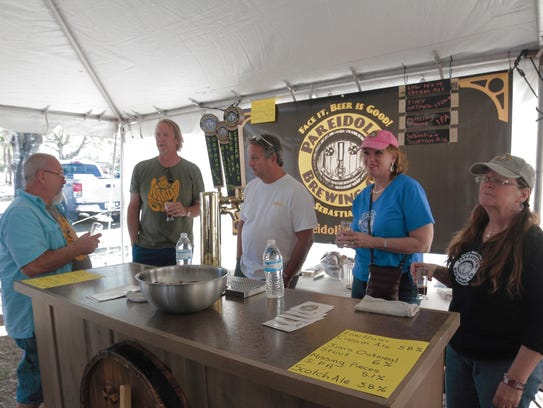 The team from Pareidolia Brewing Company during last